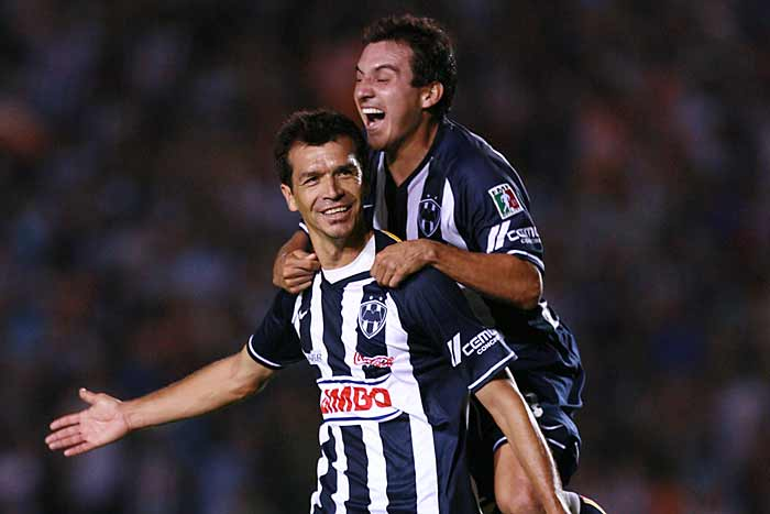 Jared Borgetti and Luis Perez Monterrey VS Chivas