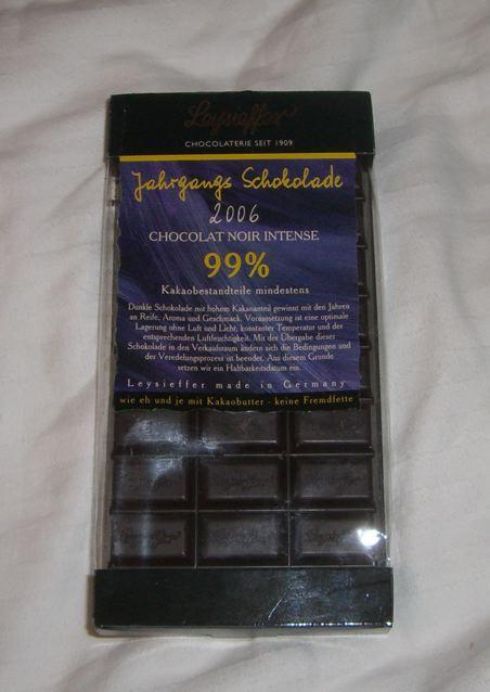 Jahrgangs-Schokolade 2006