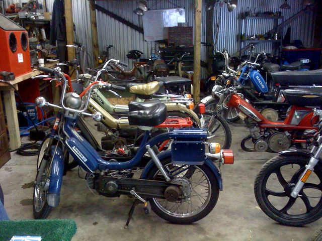 Moped restoration,