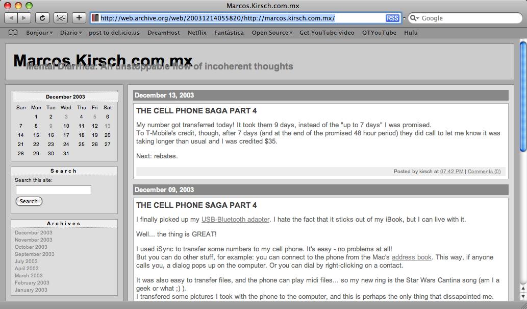 The MKX® circa 2003