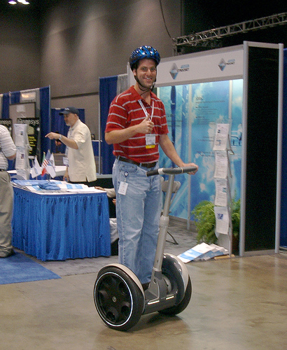 Segway riding