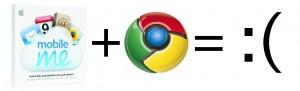 MobileMe + Chrome
