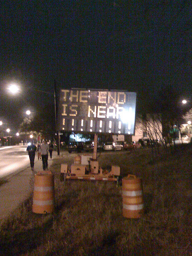 NB #3. Whoever did this is a genius. See @ethanbennett for the SB sign.