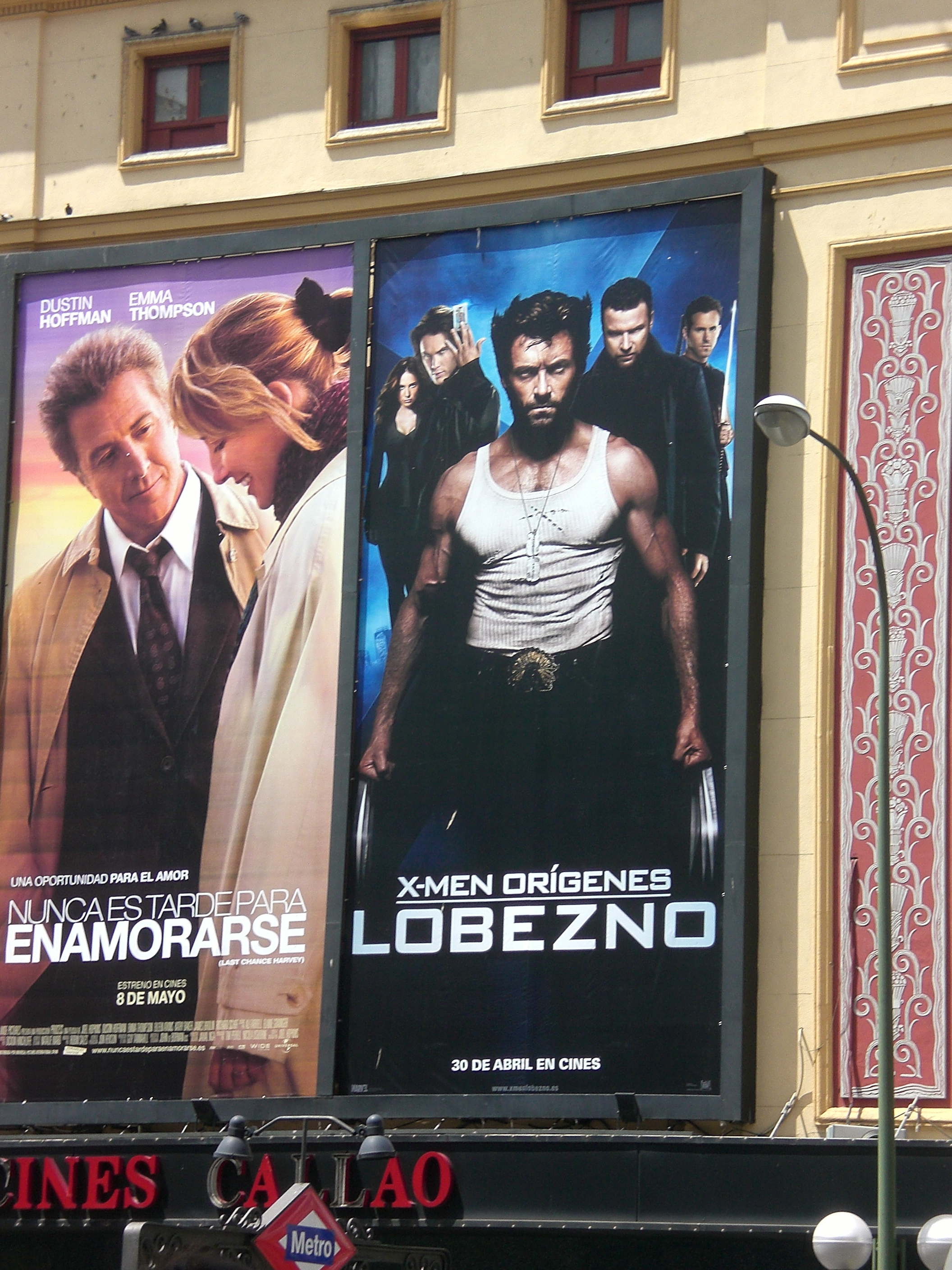 Lobezno movie poster
