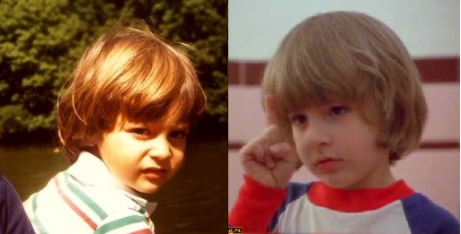 Separated at birth? Yann Kirsch and Danny Torrance
