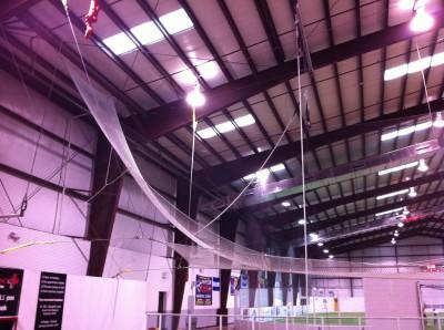 Catcher trapeze