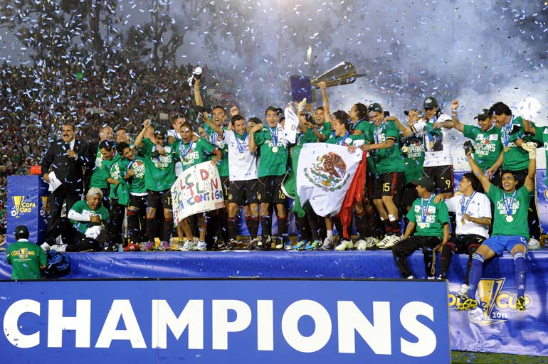 Mexico - Gold Cup Champions 2011