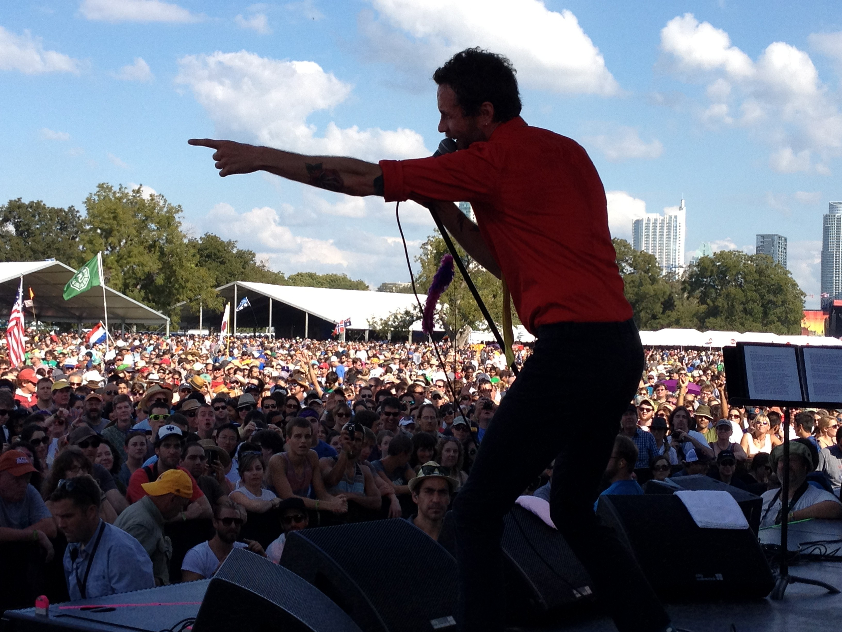 Jovanotti at ACL 2012